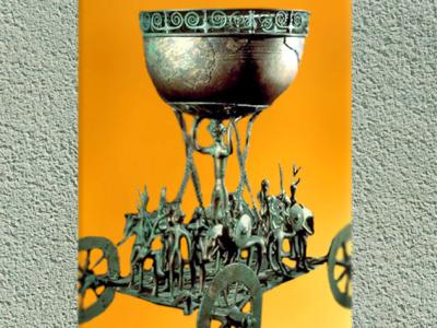 D'après un char cultuel, Hallstatt, sommaire âge du Fer. (Marsailly/Blogostelle)