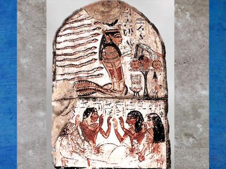 D'après la déesse serpent, Renenoutet-Thermouthis, sommaire, Le Sacré, Égypte ancienne. (Marsailly/Blogostelle