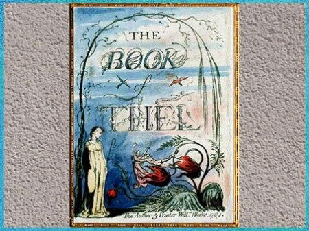 D'après The Book of Thel, précédé de The Book of Tiriel, de William Blake, coloré à la main, vers 1789 (tirage de 1815-1818), fin XVIIIe siècle. (Marsailly/Blogostelle)