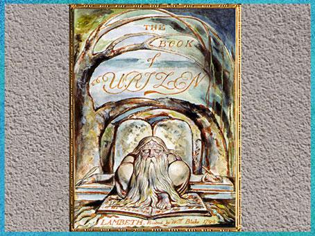D'après Urizen, incarnation de la Loi, The Book of Urizen, de William Blake, 1794, copie de 1818, XVIIIe-XIXe siècle. (Marsailly/Blogostelle)