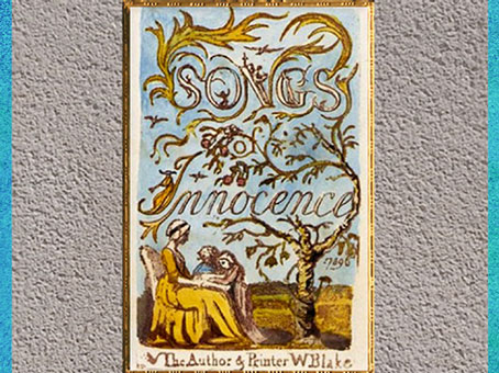 D'après Songs of Innocence and of Experience, de William Blake, 1794, gravure et enluminure, fin XVIIIe siècle. (Marsailly/Blogostelle)