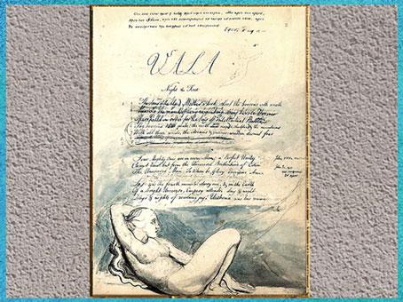 D'après le manuscrit Vala ou The Four Zoas, de William Blake, 1796-1807, eau-forte, début XIXe siècle. (Marsailly/Blogostelle)