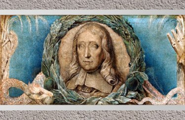 D'après John Milton, de William Blake, 1800-1803, encre et tempera sur toile, début XIXe siècle. (Marsailly/Blogostelle)