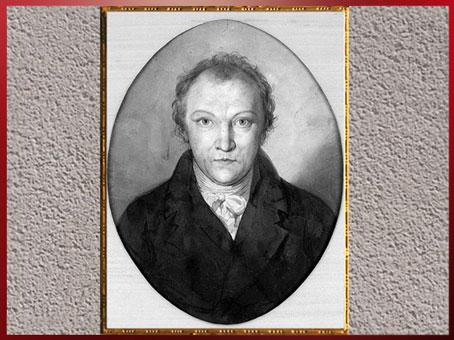 D'après un autoportrait, de William Blake, vers 1802, début XIXe siècle. (Marsailly/Blogostelle)