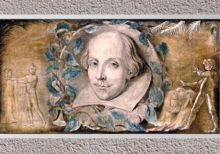 D'après William Shakespeare, de William Blake, 1800-1803, encre et tempera sur toile, début XIXe siècle. (Marsailly/Blogostelle)