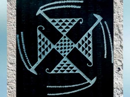 D'après le symbolisme du triskèle et du svastika, histoire du sacré. (Marsailly/blogostelle)