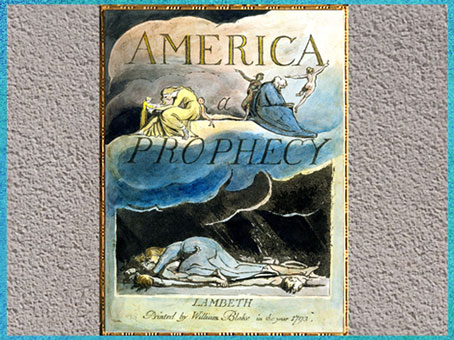 D'après America a Prophecy, William Blake, 1793, encre, aquarelle, fin XVIIIe siècle.(Marsailly/Blogostelle)