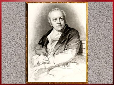 D'après William Blake, portrait de Thomas Phillips, 1798, fin XVIIIe siècle. (Marsailly/Blogostelle)