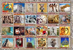 D'après l'Histoire de l'Art, les chronologies. (Marsailly/Blogostelle)