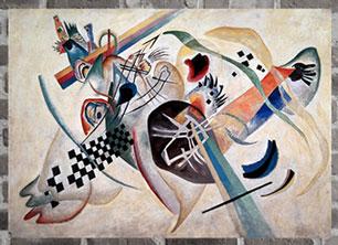 D'après Kandinsky, Histoire de l'art, XXe siècle. (Marsailly/Blogostelle)