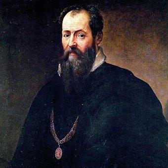 D'après Giorgio Vasari autoportrait, vers 1550-1567, huile sur toile, XVIe siècle, Cinquecento, Renaissance italienne. (Marsailly/Blogostelle)