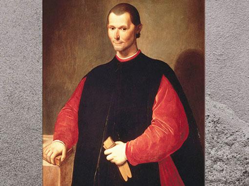 D'après Machiavel, Niccolò Machiavelli, de Santi di Tito, seconde moitié du XVIe siècle, huile, Palazzo Vecchio, Cinquecento, Renaissance italienne. (Marsailly/Blogostelle)