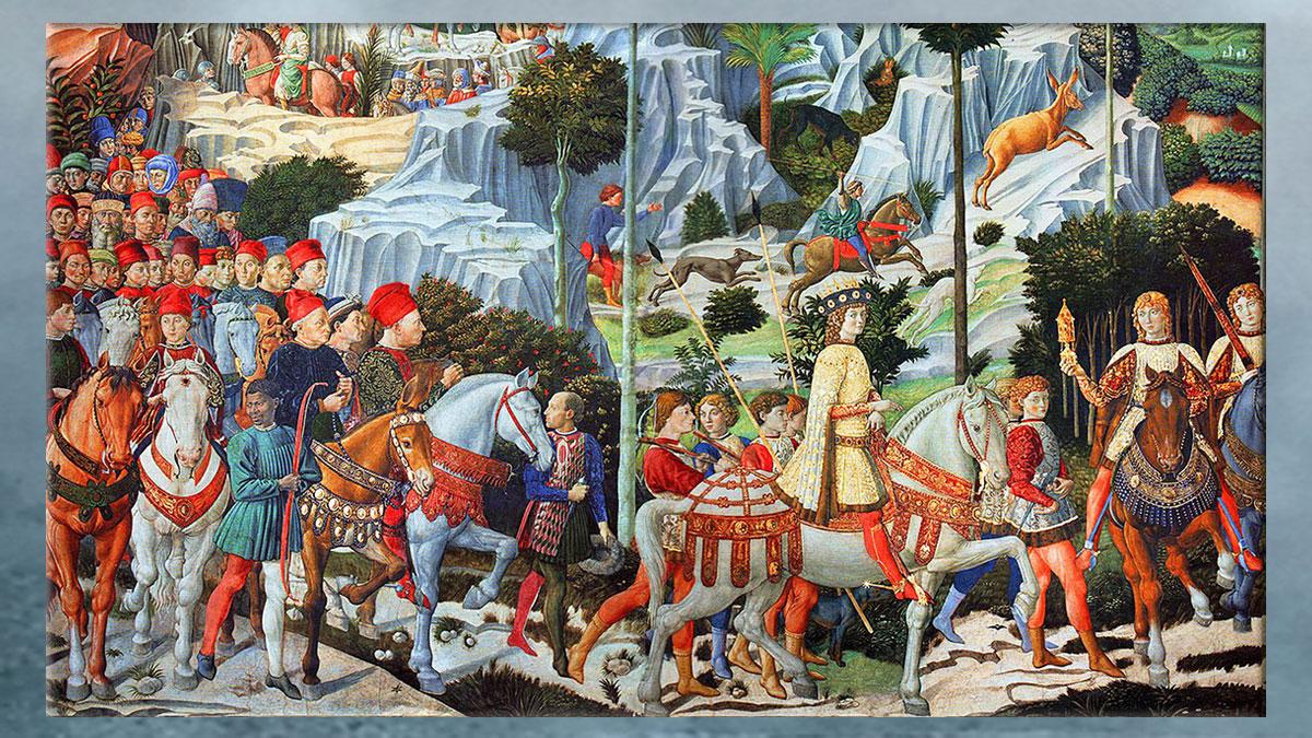 D'après les Médicis, Renaissance italienne, Florence. (Marsailly/Blogostelle)