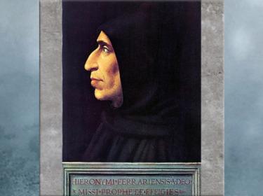 D'après Girolamo Savonarola (Savonarole), de Fra Bartolomeo, moine du couvent San Marco, 1498, Florence, XVe siècle, Quattrocento, Renaissance italienne. (Marsailly/Blogostelle)
