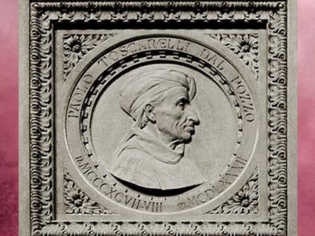 D'après Paolo dal Pozzo Toscanelli, monument dédié à Christophe Colomb, détail, XIXe siècle, basilique de Santa Croce, Florence. (Marsailly/Blogostelle)