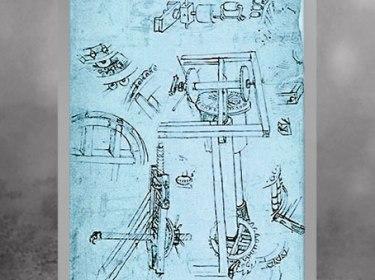 D'après des études de machinerie, de Filippo Brunelleschi, 1430, XVe siècle, Quattrocento, Renaissance italienne. (Marsailly/Blogostelle)