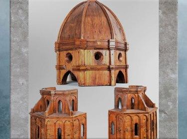 D'après la maquette d Brunelleschi, coupole de Santa Maria del Fiore, bois, 1421-1436, Florence, XVe siècle, Quattrocento, Renaissance italienne. (Marsailly/Blogostelle)
