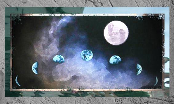 D'après les phases de la Lune qui rythment le temps, déjà sans doute dans les cultures paléolithiques. (Marsailly/Blogostelle)
