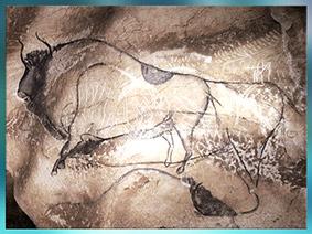 D'après les nomades paléolithiques, sommaire préhistoire, histoire de l'art. (Marsailly/Blogostelle)