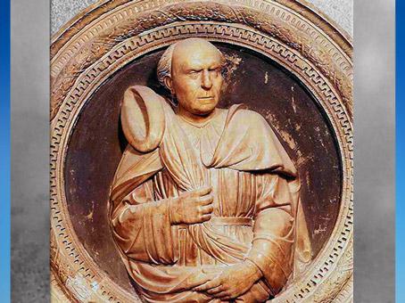 D'après un portrait de Brunelleschi, sculpteur Andrea di Lazzaro Cavalcanti, dit le Buggiano, son fils adoptif, 1446, Santa Maria del Fiore, XVe siècle, Florence, Quattrocento, Renaissance italienne. (Marsailly/Blogostelle)