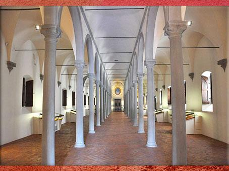 D'après le couvent San Marco, bibliothèque, Michelozzo, 1444, Florence, XVe siècle, Quattrocento, Renaissance italienne. (Marsailly/Blogostelle)