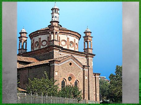 D'après la chapelle Portinari, Sant'eustorgio, Michelozzo, vers 1463, XVe siècle, Milan, Quattrocento, Renaissance italienne. (Marsailly/Blogostelle)