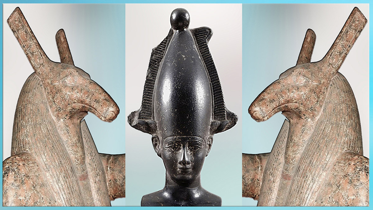 D'après le panthéon égyptien, Seth et Osiris, histoire du Sacré. (Marsailly/Blogostelle)
