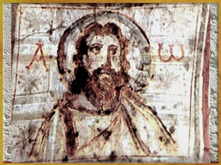 D'après une image du  Christ, sommaire art Chrétien. (Marsailly/blogostelle)