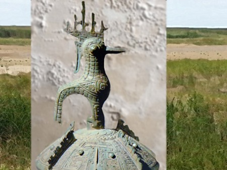 D'après un bronze, sommaire Chine ancienne. (Marsailly/blogostelle)