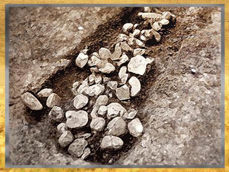 D'après un grand four collectif, Sud-Ouest, France, néolithique. (Marsailly/Blogostelle)