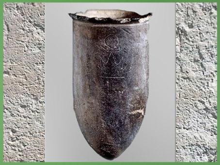 D'après un vase, pictogrammes, Soleil, Lune, Montagne, céramique incisée, 2800-2500 avjc, Juxian, Shandong, culture de Dawenkou, néolithique, Chine ancienne. (Marsailly/Blogostelle)