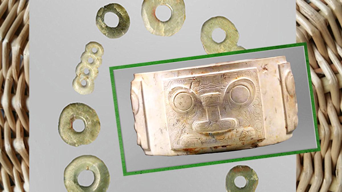 D'après l'art de la Chine ancienne, du néolithique à l'âge du Bronze. (Marsailly/Blogostelle)