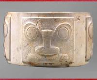 D'après des jades néolithiques, Chine ancienne, sommaire, histoire de l'art. (Marsailly/Blogostelle)