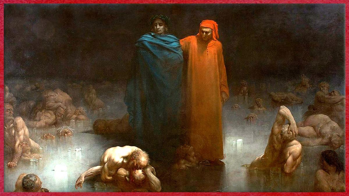 D'après Dante et Virgile, neuvième cercle de l'Enfer, Gustave Doré, XIXe siècle. (Marsailly/Blogostelle)